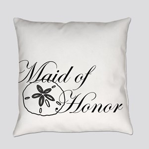 Sand Dollar Made of Honor Everyday Pillow