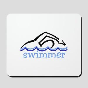 Swimmer Mousepad
