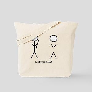 I got your back! Tote Bag