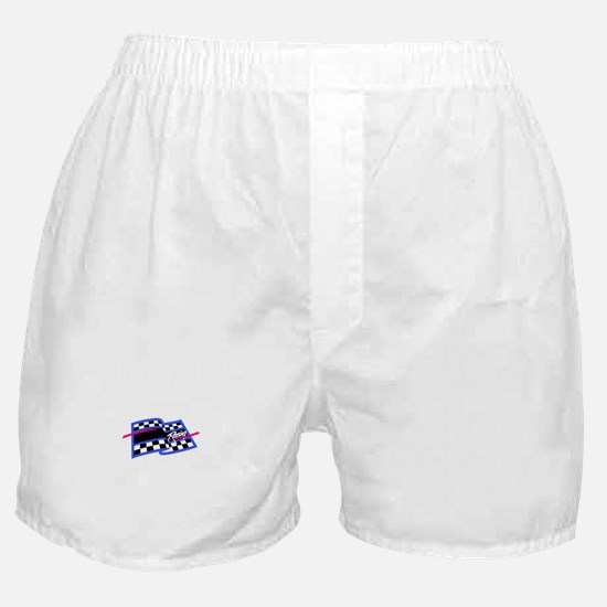 Checkered Flag Name Drop Boxer Shorts