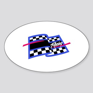 Checkered Flag Name Drop Sticker