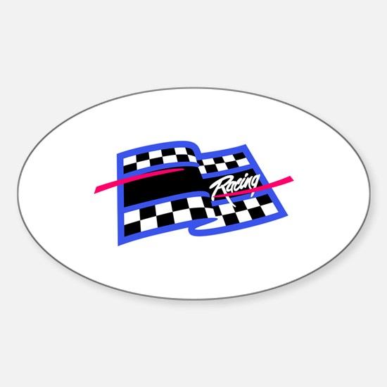 Checkered Flag Name Drop Decal