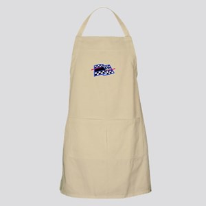 Checkered Flag Name Drop Apron