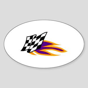 Hot Flag Sticker