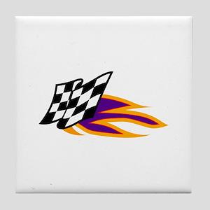 Hot Flag Tile Coaster