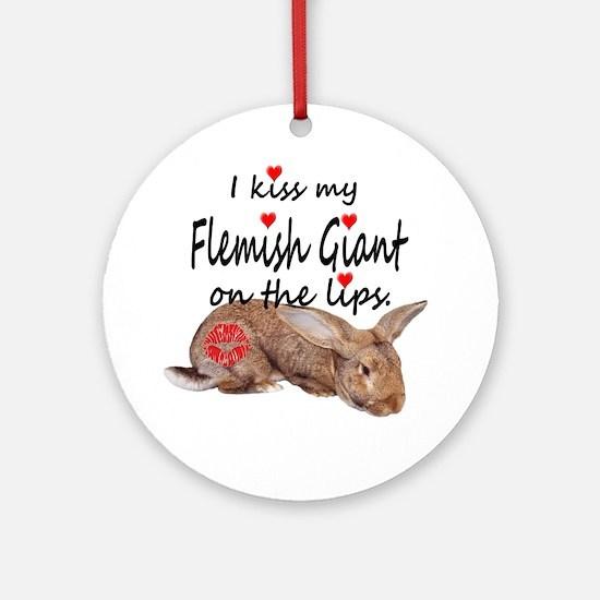 Cute Flemish Round Ornament