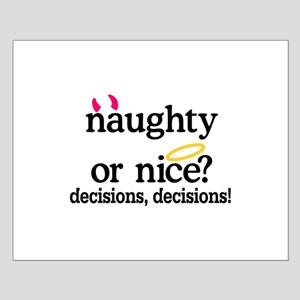 Naughty Or Nice Posters
