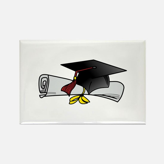 Cap and Diploma Magnets