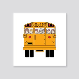 School Bus Rear Sticker