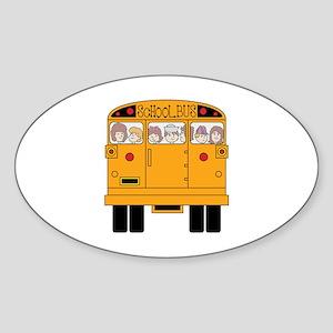 School Bus Rear Sticker