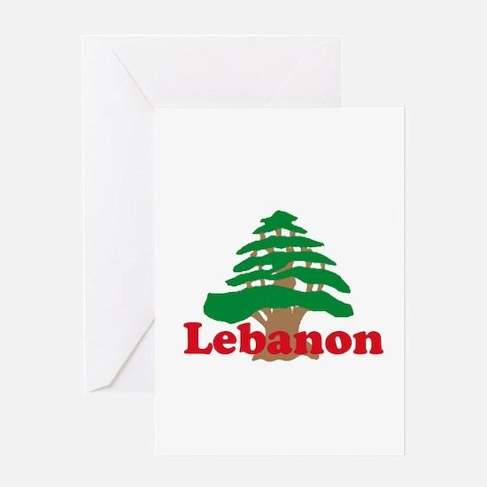 Cedar Tree Greeting Card