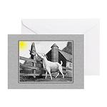 Goat-MorningSnack Greeting Cards (Pk of 20)