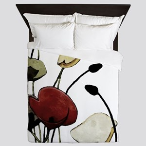Poppies Queen Duvet