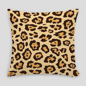 Leopard Animal Print Everyday Pillow