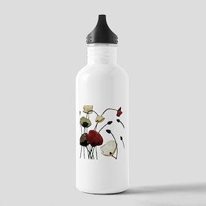 Poppies Water Bottle
