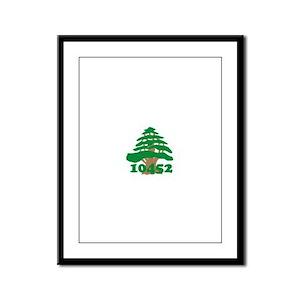 10452 Cedar Framed Panel Print