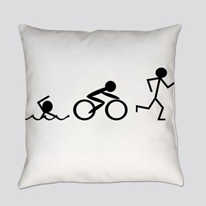 Triathlon Everyday Pillow