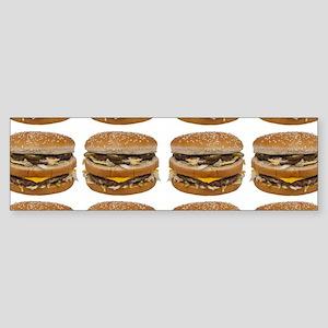 fast food burger photo Bumper Sticker