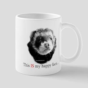 HappyFaceFerret Mugs