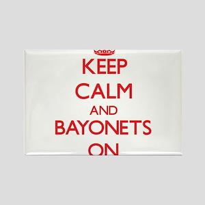 Keep Calm and Bayonets ON Magnets