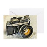 Camera Greeting Cards