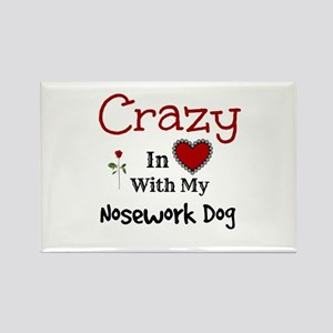 Nosework Dog Magnets