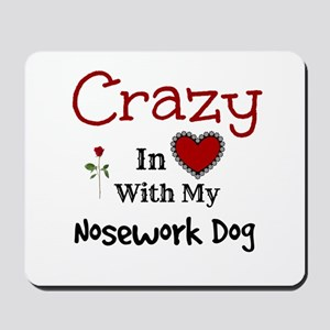 Nosework Dog Mousepad