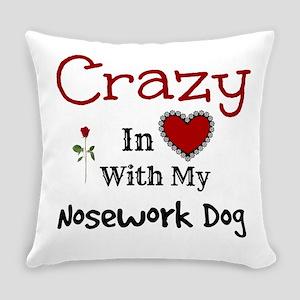 Nosework Dog Everyday Pillow