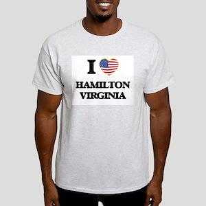 I love Hamilton Virginia T-Shirt