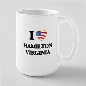 I love Hamilton Virginia Mugs