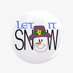 Let It Snow Button