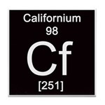 98. Californium Tile Coaster