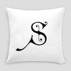 Royal Monogram S Everyday Pillow