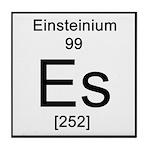 99. Einsteinium Tile Coaster