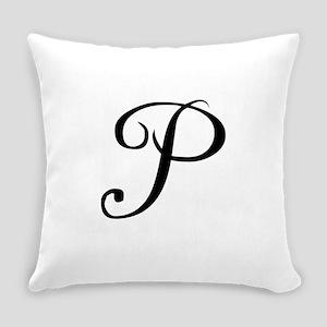 A Yummy Apology Monogram P Everyday Pillow