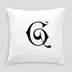 Royal Monogram G Everyday Pillow