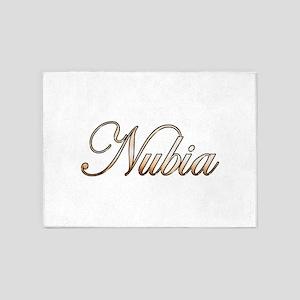Gold Nubia 5'x7'Area Rug
