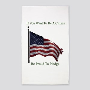 Want To Be A Citizen Area Rug