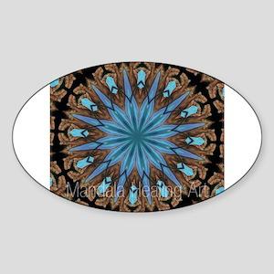 Reiki Mandala Sticker