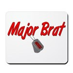 USCG Major Brat Mousepad