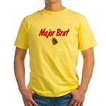 USCG Major Brat Yellow T-Shirt