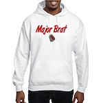 USCG Major Brat Hooded Sweatshirt