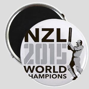 New Zealand NZ Cricket 2015 World Champions Magnet