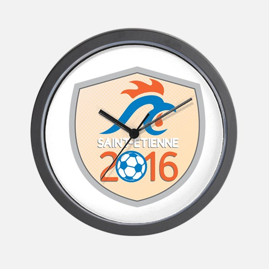 Saint Etienne 2016 Europe Championships Wall Clock