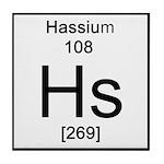 108. Hassium Tile Coaster