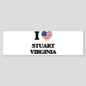 I love Stuart Virginia Bumper Sticker