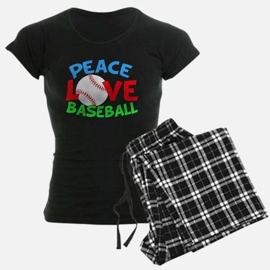 Baseball Love Pajamas