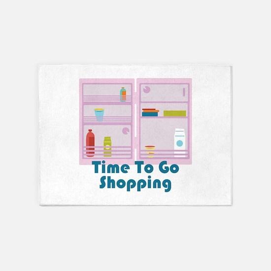 Go Shopping 5'x7'Area Rug