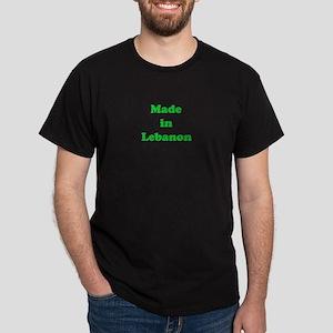 Made in Lebanon Dark T-Shirt