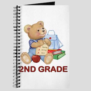 School Days Teddy - 2nd Grade Journal